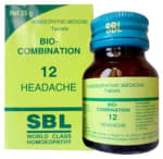SBL Bio Combination 12 Tablet